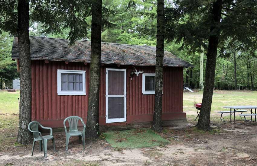 cozy cove cabins exterior